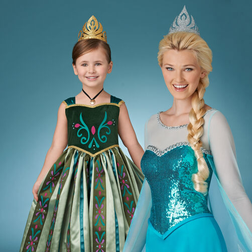 Frozen Glitter Crowns