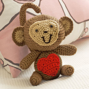 Crochet Love Monkey