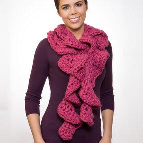 Crochet Spiral Scarf