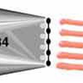 No. 134 Multi-Opening Decorating Tip**
