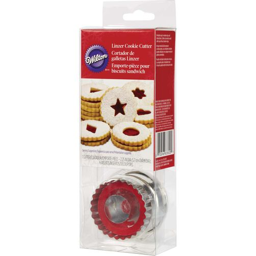 Linzer Cut Outs Cookie Cutter Set