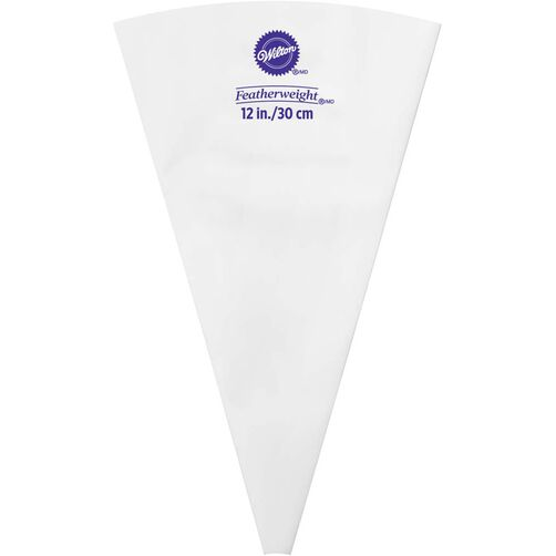 Wilton Cake Decorating Bag Instructions : 12 Inch Featherweight Piping Bag Wilton