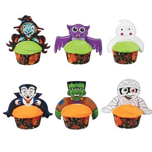 Freaky Friends Cupcake Pix