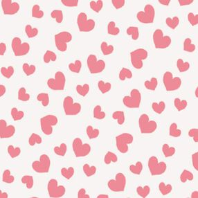 Pink Hearts Sugar Sheets Edible Decorating Paper