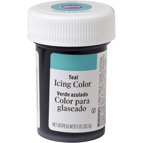 Teal Icing Color