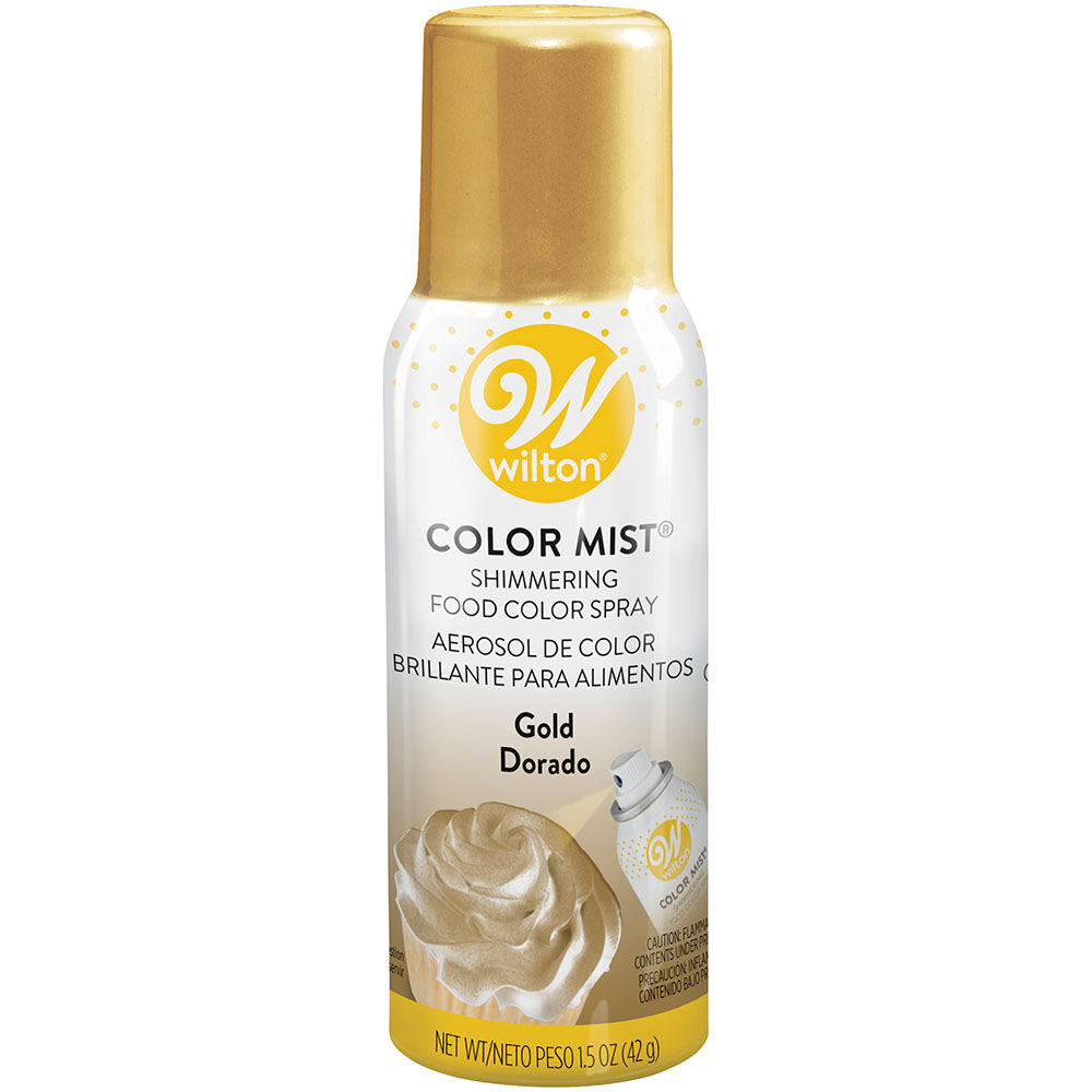 Color Mist Gold Food Coloring Spray Wilton