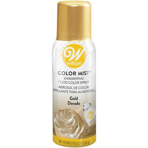 Color Mist Gold Food Coloring Spray Wilton