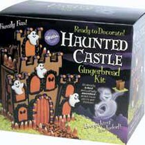 Pre-Baked/Pre-Assembled Haunted Castle Gingerbread Kit