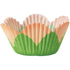 Peach Petal Mini Baking Cups