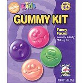 Funny Faces Gummy Making Kit