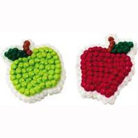 Apple Icing Decorations