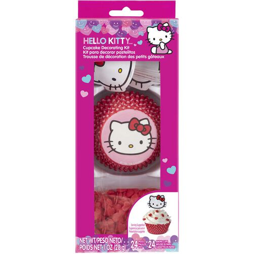 Hello Kitty Cupcake Decorating Kit Wilton