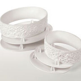 Always and Forever Oval Separator Ring Set