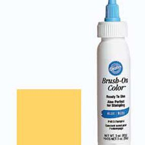 Yellow Brush-On Color