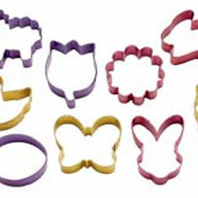 Easter Color Anodized Cookie Cutter Set