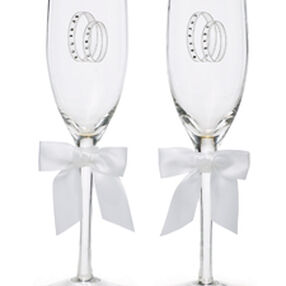 Infinity Wedding Day Collection Toasting Glasses