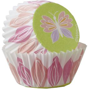 Wilton Butterfly Mini Baking Cups, 100-Count