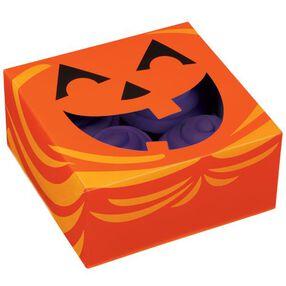 Jack-O-Lantern 4-Cavity Cupcake Box