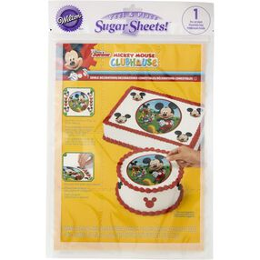 Mickey Mouse Edible Images Cake Decorating Kit
