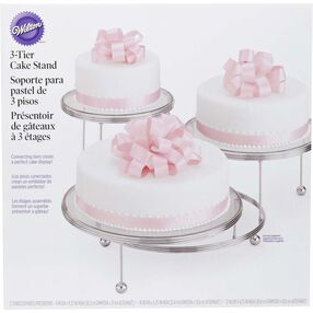 Cakes 'N More 3 Tiered Party Stand