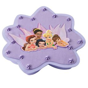 Disney Fairies Disposable Cake Pan and Topper