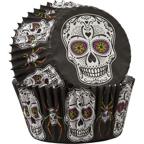 Wilton Halloween Sugar Skull Standard Baking Cup