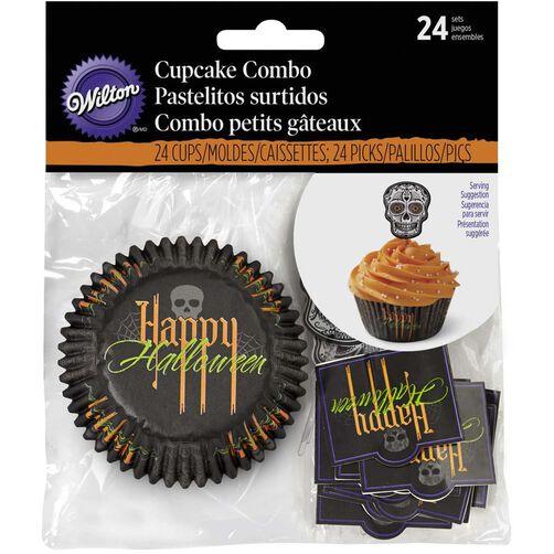 wilton deadly soiree halloween cupcake decorating kit
