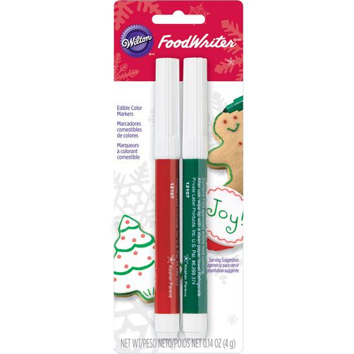 Wilton FoodWriter Holiday Edible Color Markers