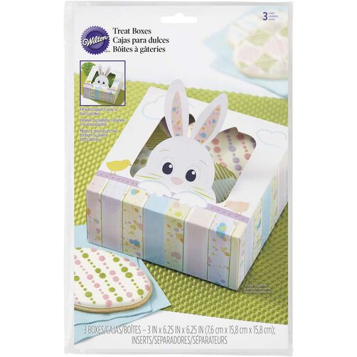On the Fence Bunny Treat Boxes