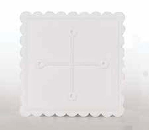 11 in. Square Separator Plate
