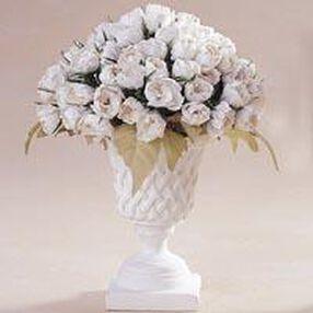 Crinkle Paper Petite Rose Topiary Arrangement