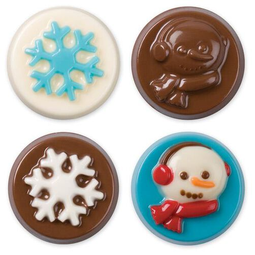 Snowflake Wishes Cookie Candy Mold