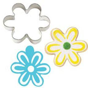 Flower Stencil-A-Cookie