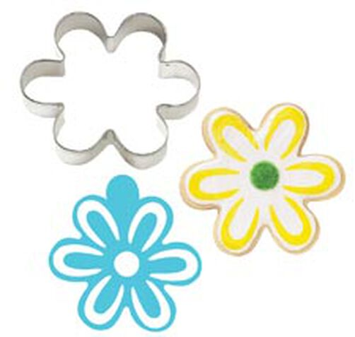 Flower Stencil-A-Cookie