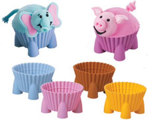 Silly-Critters! Silicone Baking Cups