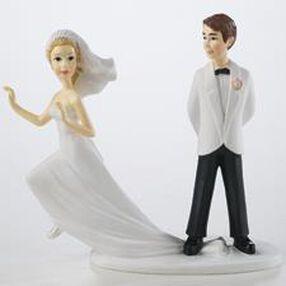 Runaway Bride Figurine