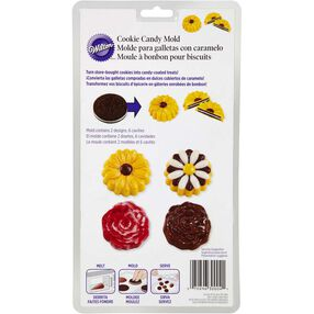 Flower Cookie Candy Molds