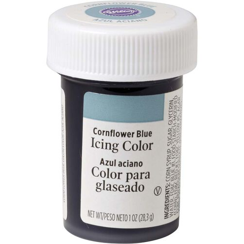 Cornflower Blue Icing Color
