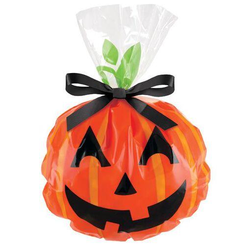 Jack-O-Lantern Shaped Party Bag