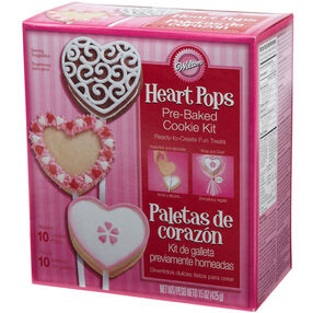 Heart Pops Cookie Kit