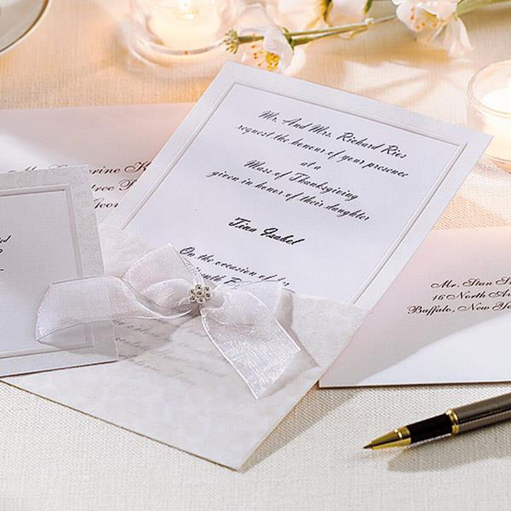 Wilton Wedding Invitation Kits is the best ideas you have to choose for invitation example