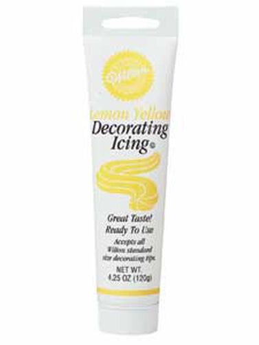 Lemon Yellow Ready-To-Use Icing Tube