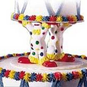 Clown Separator Topper Set