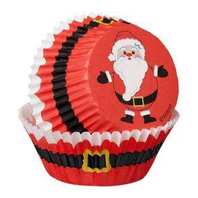 Wilton Christmas Secret Santa Cupcake Combo Baking Cups and Picks