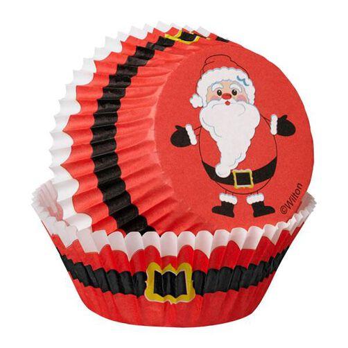 Christmas Secret Santa Cupcake Combo Baking Cups and Picks