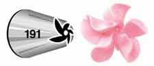 No. 191 Drop Flower Decorating Tip