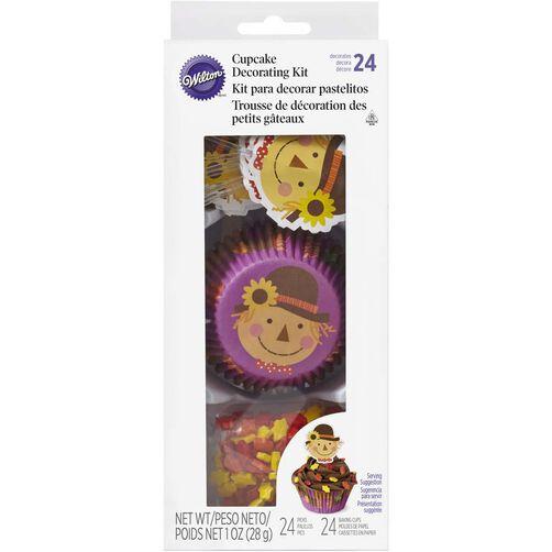 Wilton Autumn Scarecrow Cupcake Decorating Kit