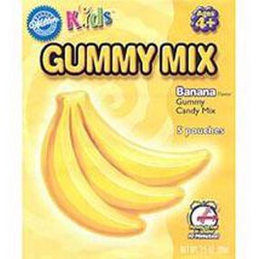 Banana Gummy Candy Mix