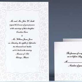 Flirty Fleur Wedding Invitation Kit