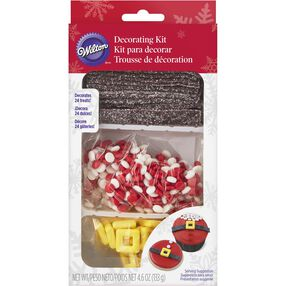 Santa Belt Cupcake Decorating Kit